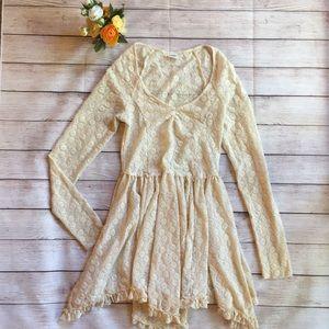 Free People Intimately long sleeve dress